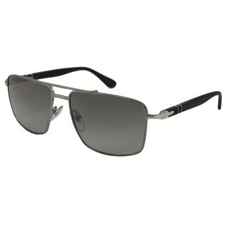 Persol Men's PO2430 Polarized/ Aviator Sunglasses