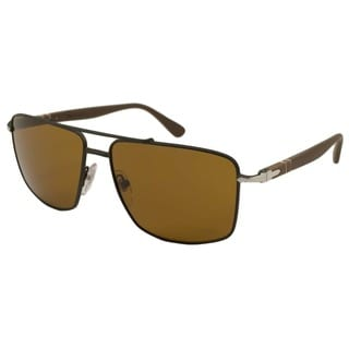 Persol Men's PO2430 Aviator Sunglasses