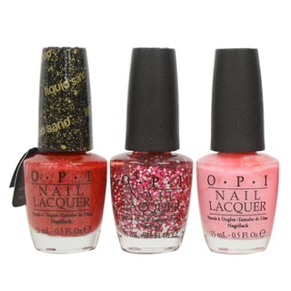 OPI Couture de Minnie 3-piece Nail Lacquer Collection
