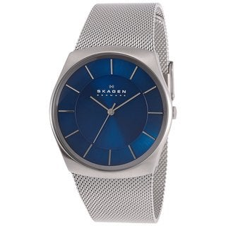 Skagen Men's SKW6068 Havene Quartz 3 Hand Stainless Steel Silver Watch