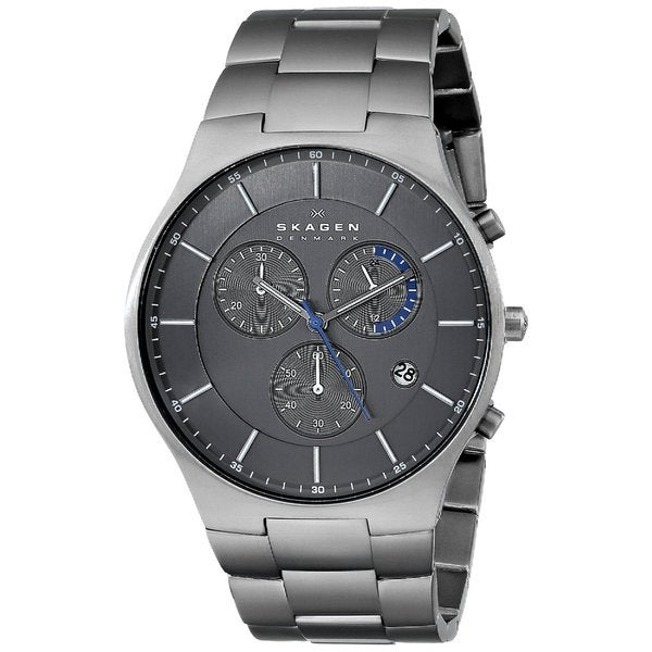 Skagen Men's SKW6077 Balder Chronograph Titanium Watch