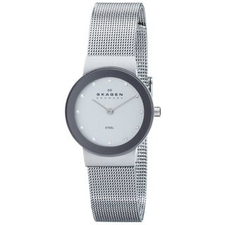 Skagen Women's 358SSSD Freja Quartz 2-hand Stainless Steel Silver Watch