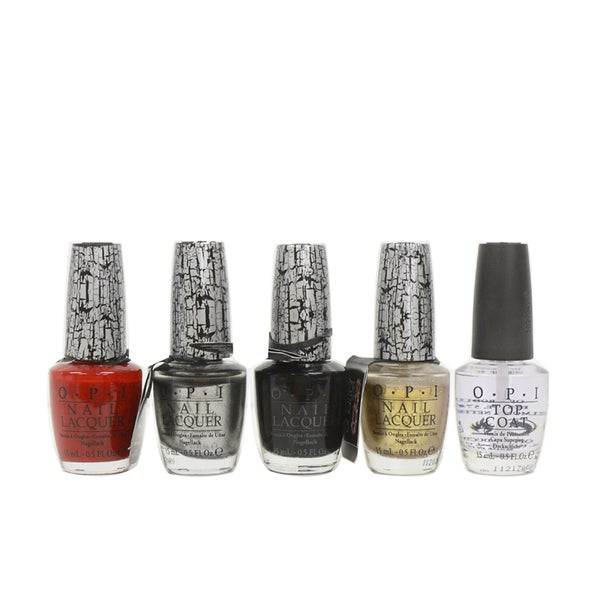 OPI Holiday Shatter 5-piece Nail Lacquer Set