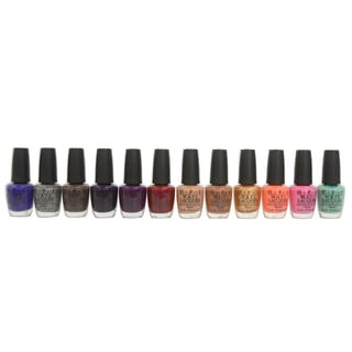 OPI Nordic 12-piece Nail Lacquer Collection