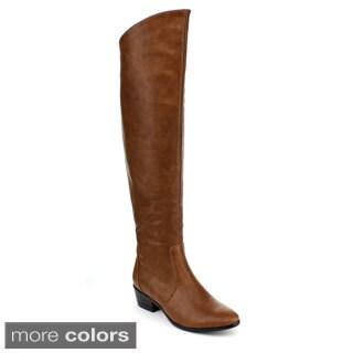 DBDK Women's 'Fruma-2' Over the Knee Riding Boots