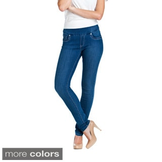 Bluberry Denim Women's Blue Slim Cut Jeans