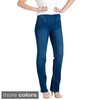 Bluberry Denim Women's Premium Straight-cut Jeans