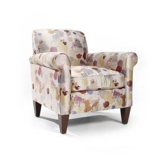 Meegan 'Splash' Splatter Pattern Arm Chair