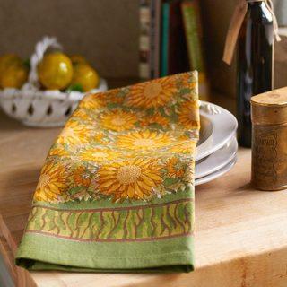 Couleur Nature Sunflower Tea Towels (Set of 3)