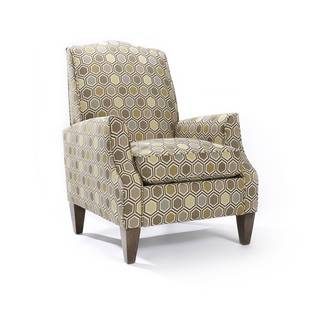 Sedona Patterned Rattan Blend Arm Chair
