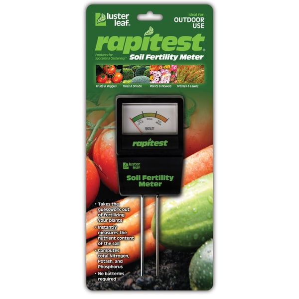 Luster Leaf Rapitest Soil Fertility Meter