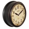 WestClox 10-inch Deep Classic Wall Clock