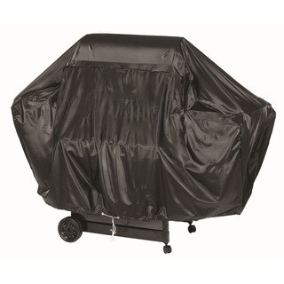 68-inch Black Heavy Duty VInyl Grill Cover