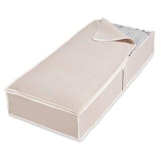 Whitmor Natural Linen Jumbo Underbed Storage Bag