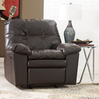 Signature Design by Ashley Jordon DuraBlend Java Rocker Recliner