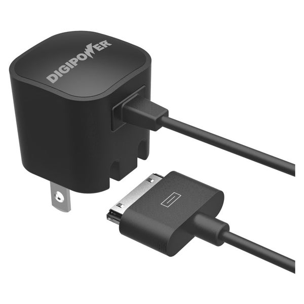 DigiPower Wall Charger With 30 Pin Cable IP-AC1IP-T