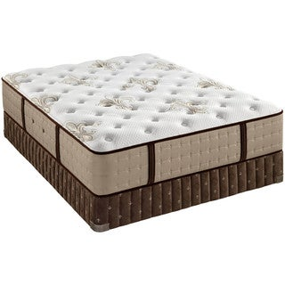 Stearns and Foster Collection Estate Luxury Plush Queen-size Mattress Set