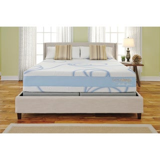 Sierra Sleep 14-inch Queen-size Gel Memory Foam Mattress