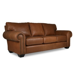 Cambridge Italian Leather Sofa