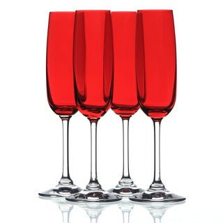 Waterford Marquis Vintage Red Flute (Set of 4)