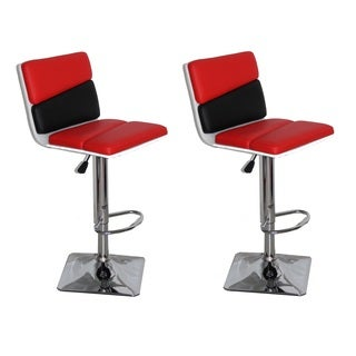 Henry Adjustable Swivel Bar Stool (Set of 2)