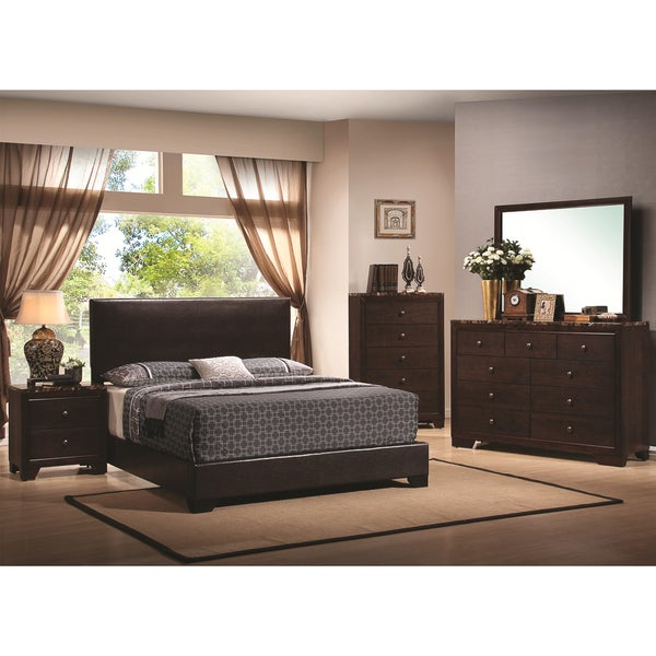 Conrad Marble 4-piece Bedroom Set 13973674
