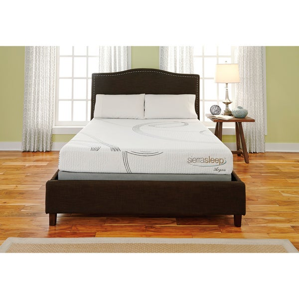 Sierra Sleep 8-inch California King-size Memory Foam Mattress