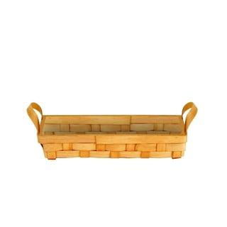 12.5-inch Rectangular Woodchip Tray(set of 3)