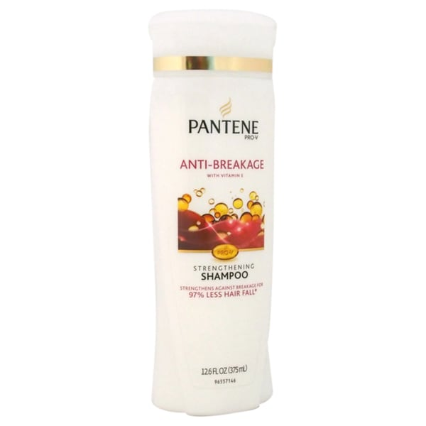 Pantene Pro-V Medium-Thick Hair Solutions Breakage to Strength 12.6-ounce Shampoo