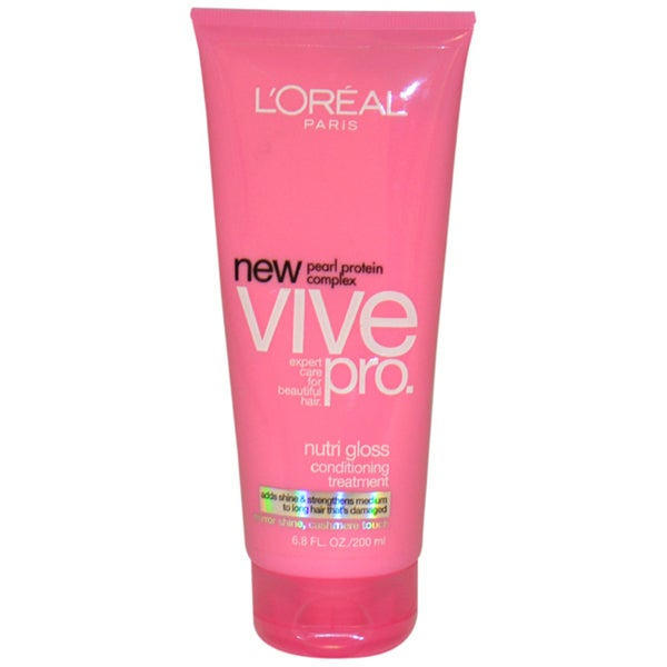 L'Oreal Paris Vive Pro Nutri Gloss 6.8-ounce Conditioning Treatment for Medium To Long Hair