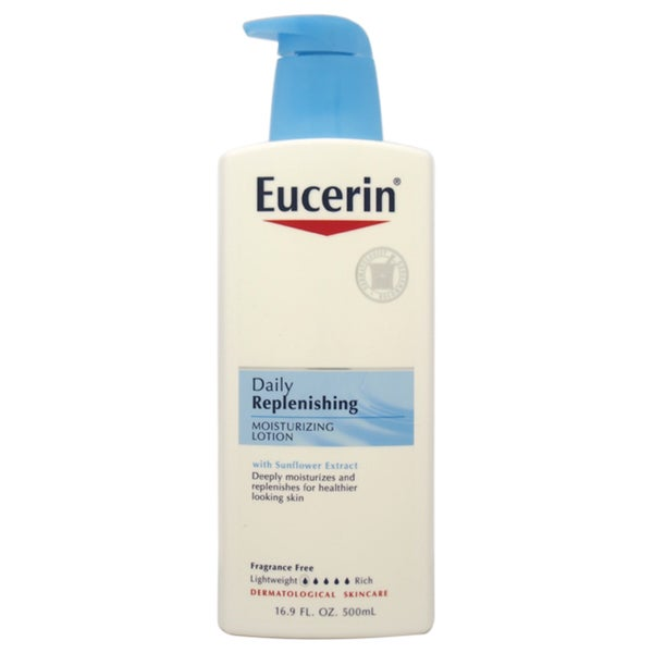 Eucerin Daily Replenishing 16.9-ounce Moisturizing Lotion