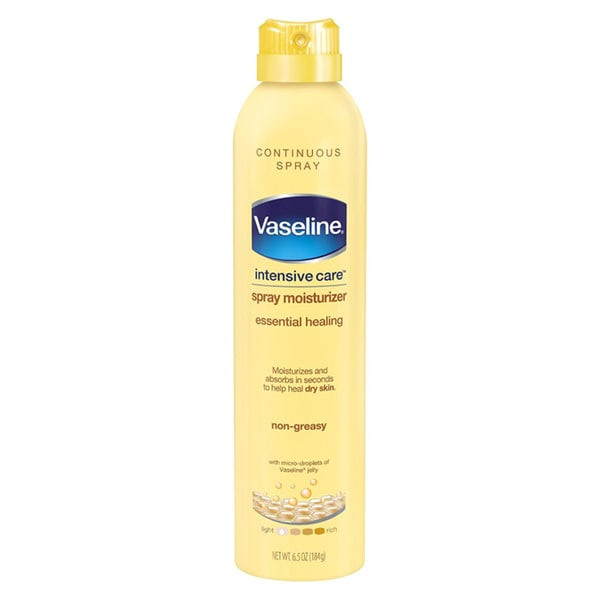 Vaseline Spray and Go Total Moisture Non-Greasy 6.5-ounce Moisturizer