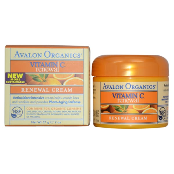 Avalon Organics Vitamin C Renewal 2-ounce Cream