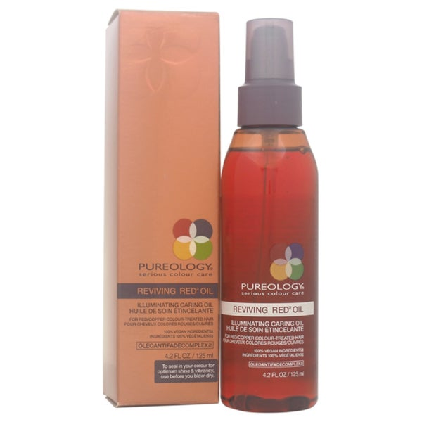 Pureology Reviving Red Oil Illuminating Caring 4.2-ounce Oil