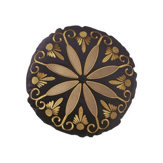 Modern Living Tivoli Circular Velvet Quality Decorative Throw Pillow