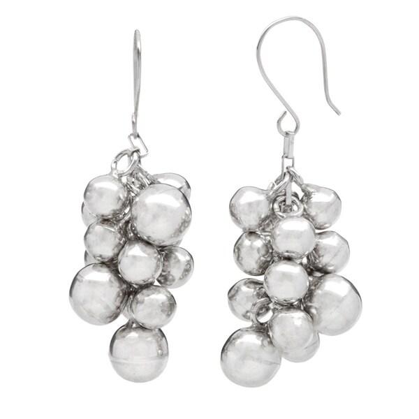 Kele & Co .925 Sterling Silver Multi Ball Earrings