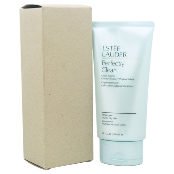 Estee Lauder Perfectly Clean Multi-Action Creme Cleanser/Moisture Mask 5-ounce Cleanser