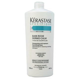 Kerastase Specifique Bain Riche Dermo-Calm 34-ounce Shampoo
