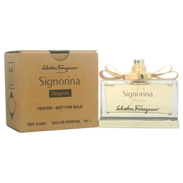 Salvatore Ferragamo Signorina Eleganza Women's 3.4-ounce Eau de Parfum Spray (Tester)