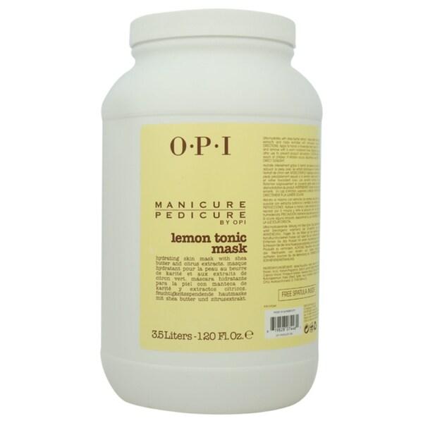 OPI Manicure Pedicure Lemon Tonic Mask