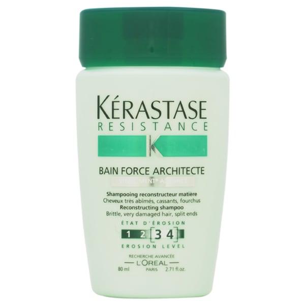 Kerastase Resistance Bain De Force Architecte Reconstructing 2.71-ounce Shampoo