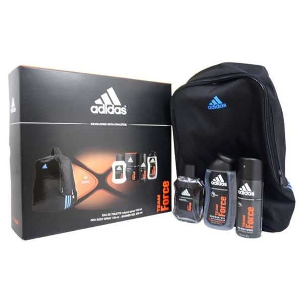 Adidas Team Force Men's 4-piece Gift Set