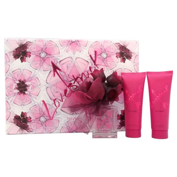 Vera Wang Love Struck Women's 3-piece Gift Set