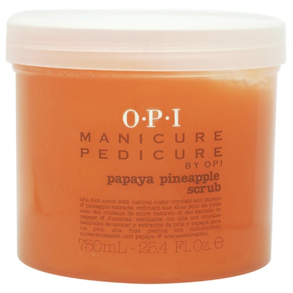 OPI Manicure Pedicure Papaya Pineapple 25.4-ounce Scrub