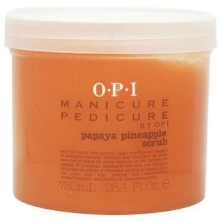 OPI Manicure Pedicure Papaya Pineapple 25.4-ounce Scrub
