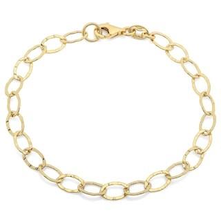 Sterling Essentials Oval Link Bracelet