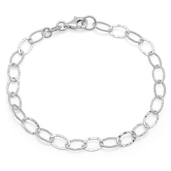 Sterling Essentials Oval Link Bracelet