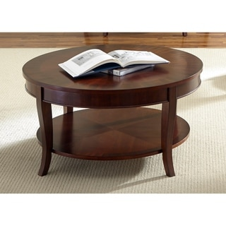 Liberty Rich Cherry Round Cocktail Table
