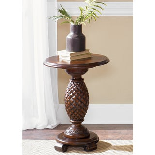Liberty Cathedral Cherry Chair Side Table