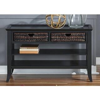 Liberty Rubbed Black Sofa Table